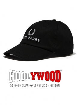FRED PERRY Monochrome Fred Perry Cap (one size - schwarz)