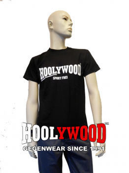 "HOOLYWOOD T-Shirt ""SPORT FREI"" (black) - Made in Germany"