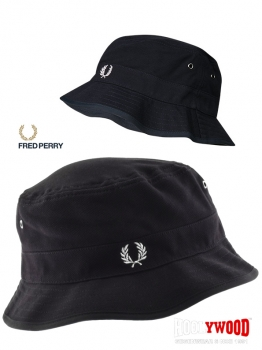 FRED PERRY - Fisherman Hat -  Anglerhut - dark-navy - Wendehut - Cotton - Hut - Fischerhut - Schlapphut