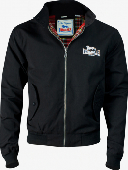 HOOLIGAN Harrington Old School Jacke, beige-black