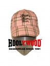 HOOLYWOOD Cap Three Lions, Baseballcap Made in Germany, classic cap, one size, classic oldschool rose'