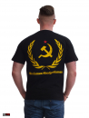"HOOLYWOOD T-Shirt ""Marxismus-Hooliganismus"" klassisch, Made in Germany (black)"